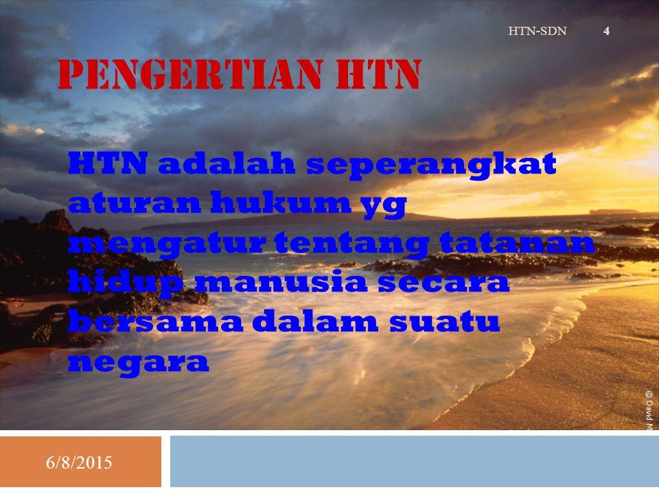 Pendapat yG Melihat Hubungan HTN dan HAN Ada perbedaan 6/8/2015HTN-SDN 15 1.