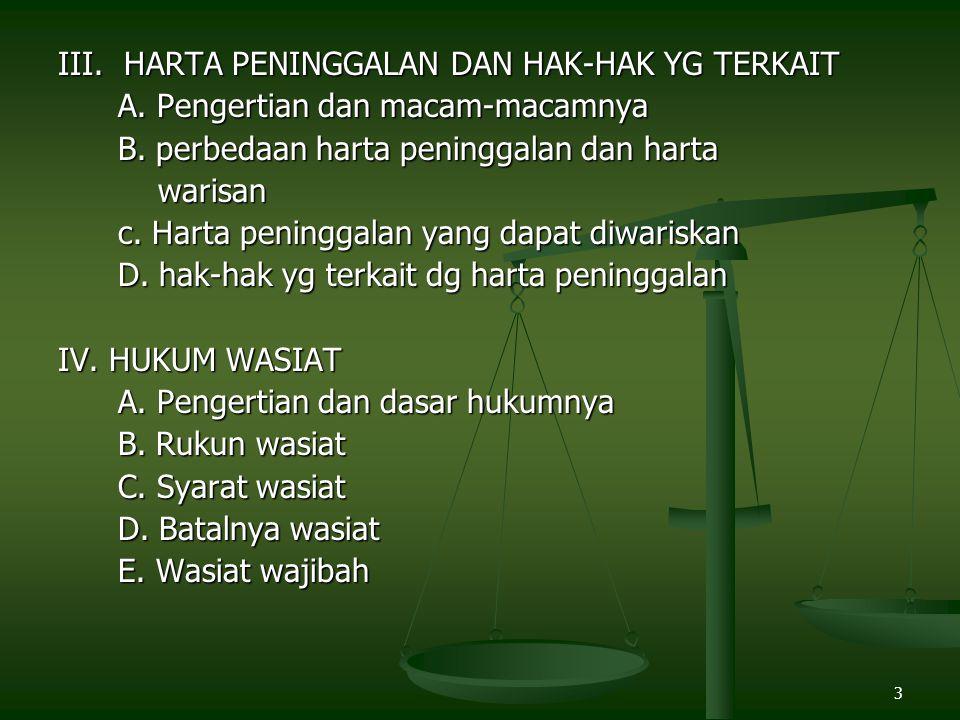 24 Masalah Gharawain/Umariyatain Masalah ini disebut gharawain atau Umariyatain karena berasal dari sahabat Umar bin Khatab.