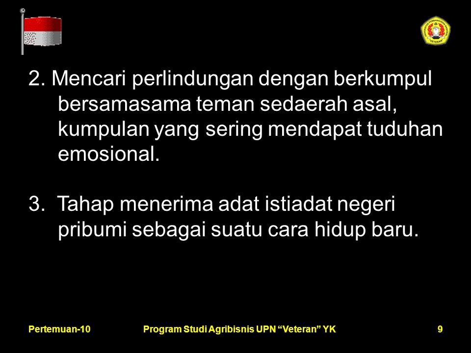 9Pertemuan-10Program Studi Agribisnis UPN Veteran YK 2.