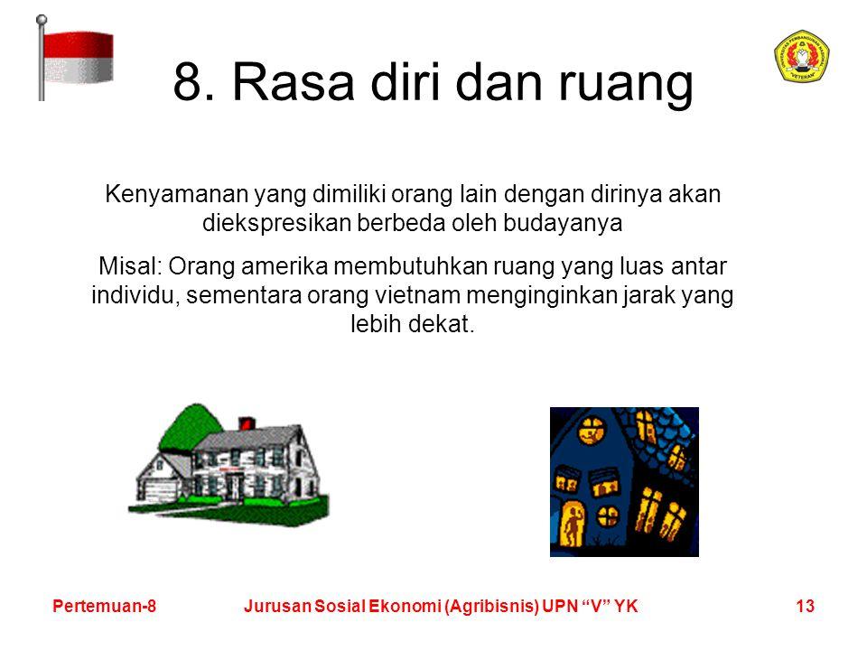 13Pertemuan-8Jurusan Sosial Ekonomi (Agribisnis) UPN V YK 8.