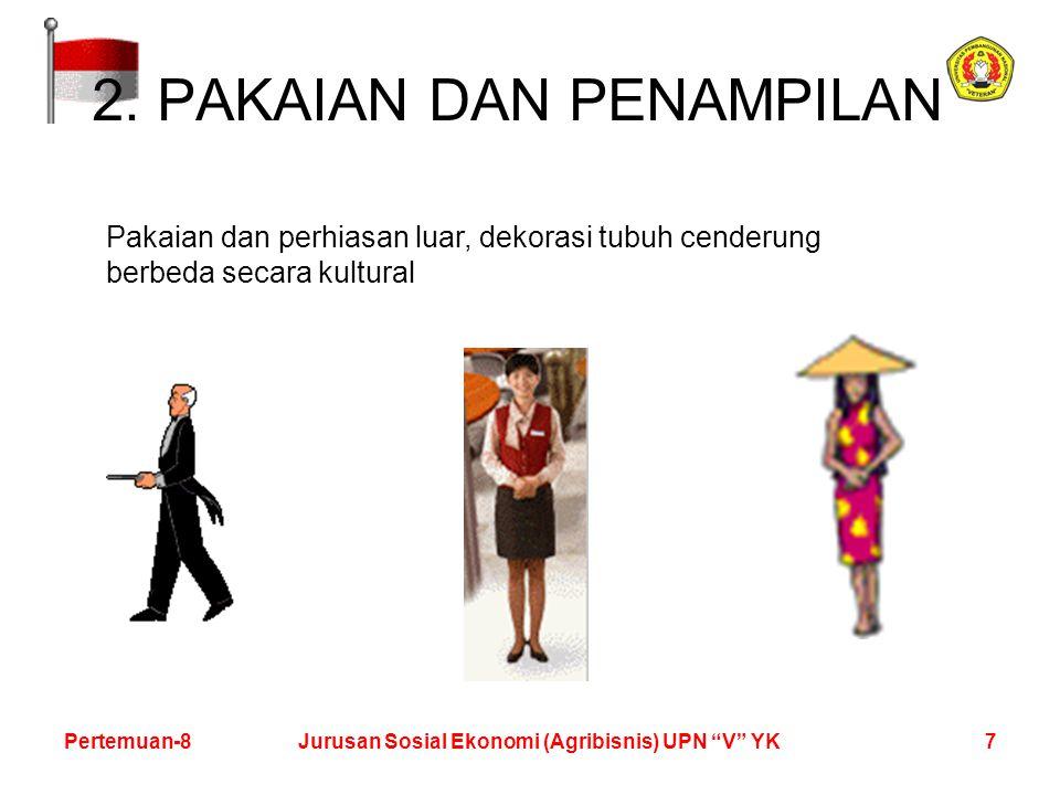 7Pertemuan-8Jurusan Sosial Ekonomi (Agribisnis) UPN V YK 2.