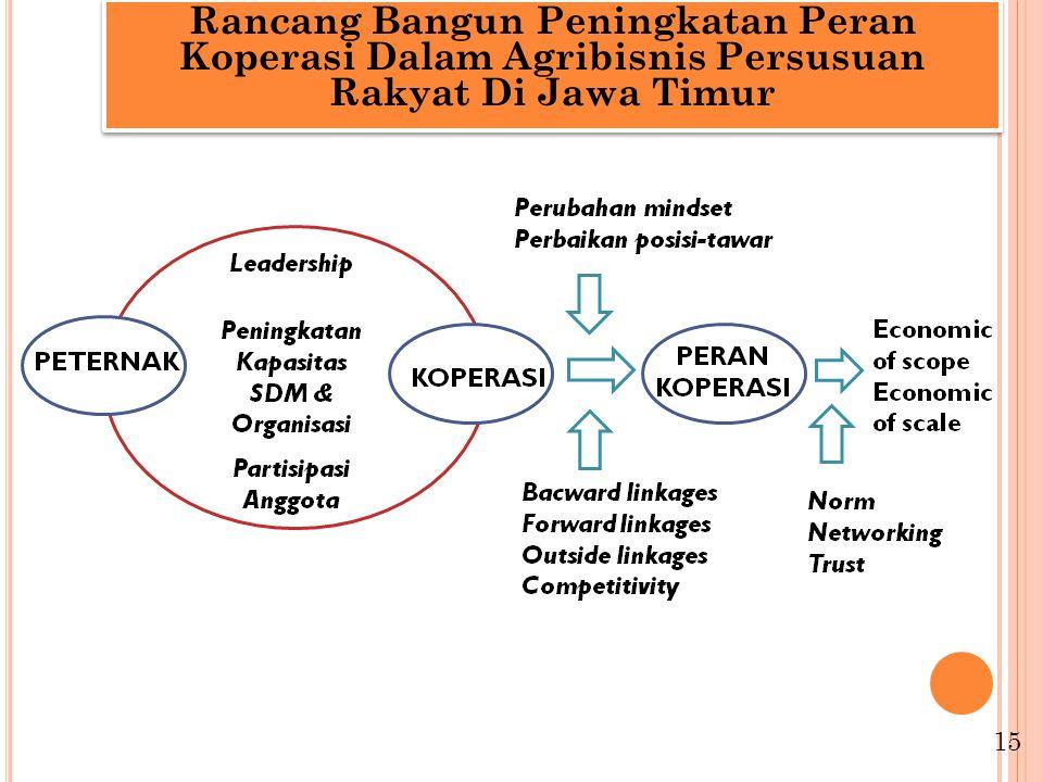 Rancang Bangun Peningkatan Peran Koperasi Dalam Agribisnis Persusuan Rakyat Di Jawa Timur 15