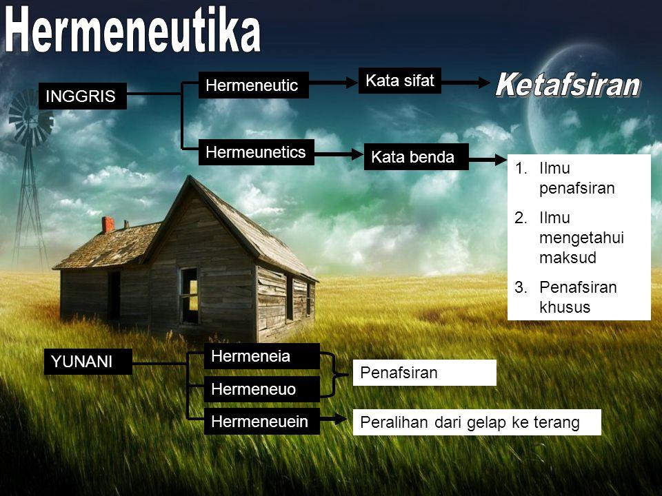 METODE HOLISTIK Keterkaitan antara teks-konteks dan kontekstualisasi