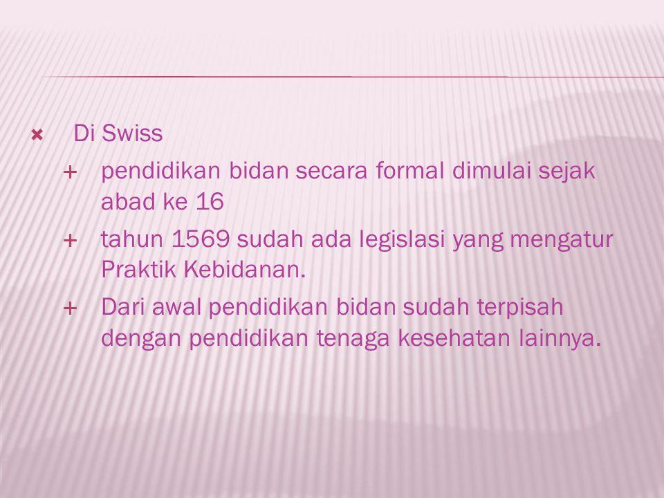  Pelayanan kebidanan di Indonesia berdasar pada penghargaan bhwa kehamilan dan persalinan merupakan proses fisiologis.