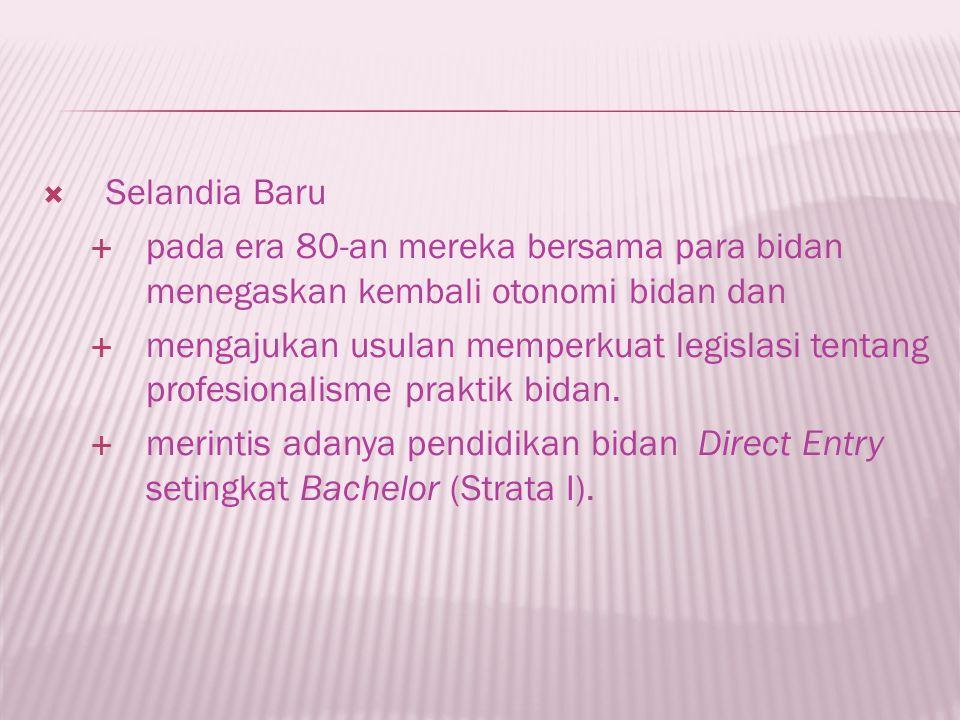seorang perempuan yang lulus dari pendidikan Bidan yang diakui pemerintah dan organisasi profesi di wilayah Negara Republik Indonesia serta memiliki kompetensi dan kualifikasi untuk diregister, sertifikasi dan atau secara sah mendapat lisensi untuk menjalankan praktik kebidanan.