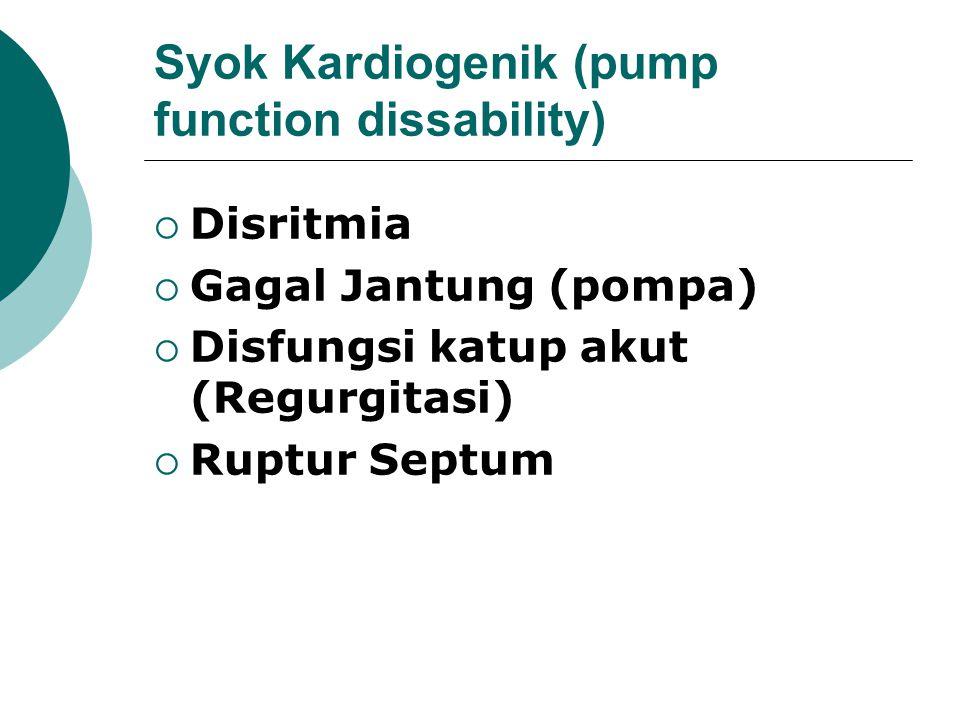 Syok Hipovolemik (volume loss)  Kehilangan darah (perdarahan)  Kehilangan plasma (luka bakar, dermatitis eksfoliatif)  Kehilangan cairan dan elektr