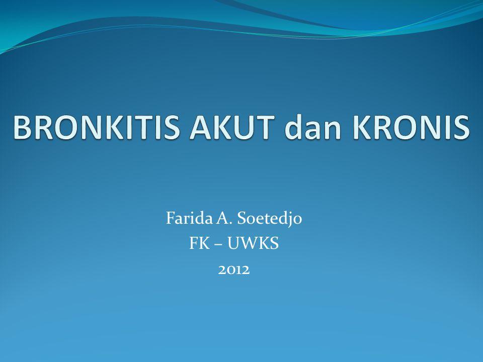 Farida A. Soetedjo FK – UWKS 2012