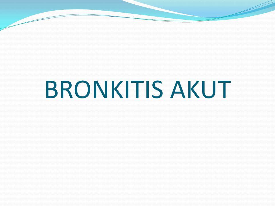 BRONKITIS AKUT