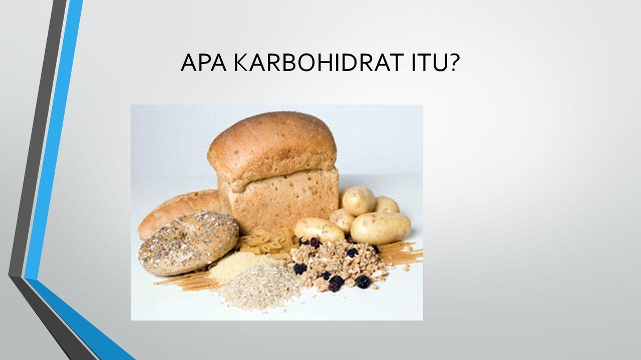 Pengertian karbohidrat Karbohidrat adalah senyawa organik dengan rumus umum C m (H 2 O) n , yaitu, hanya terdiri dari karbon, hidrogen dan oksigen, dua terakhir dalam rasio atom 2:1.