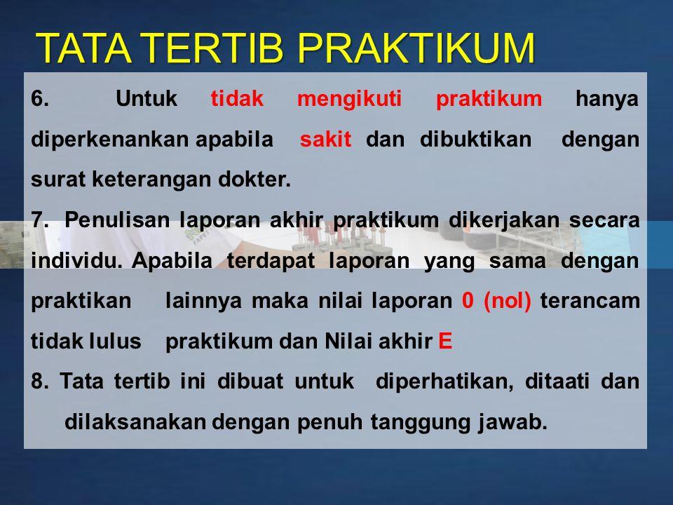 Page 3 TATA TERTIB PRAKTIKUM 6.