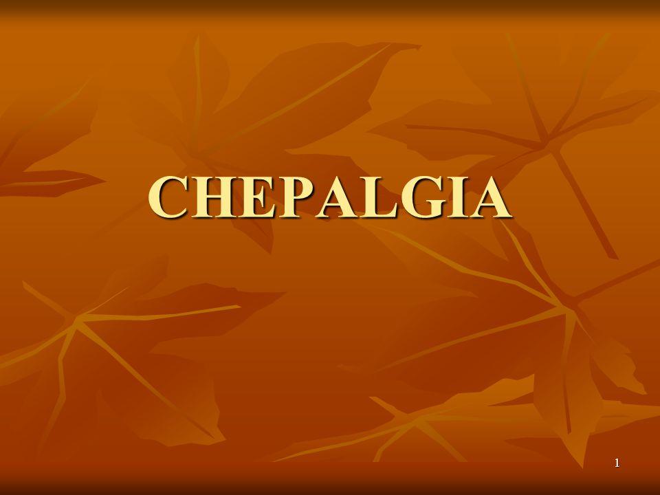 2 CHEPALGIA /HEADACHE Batasan: Nyeri kepala adalah nyeri atau sakit sekitar kepala, termasuk nyeri di belakang mata serta perbatasan antara leher dan kepala bagian belakang (Oleson & Bonica, 1990).
