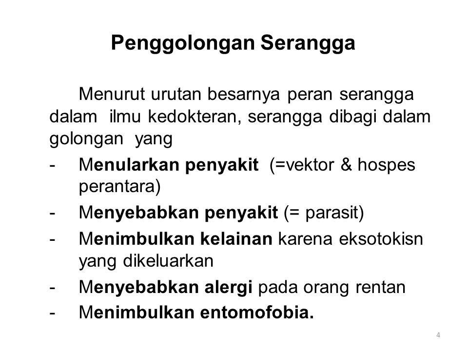 (Lanjutan) Vektor penyakit virus, riketsia dan bakteri -Vektor penyakit demam berdarah dengue -Vektor penyakit Japanese B encephalitis -Vektor penyakit chikungunya -Vektor penyakit demam kuning -Vektor penyakit demam semak -Vektor penyakit sampar 25