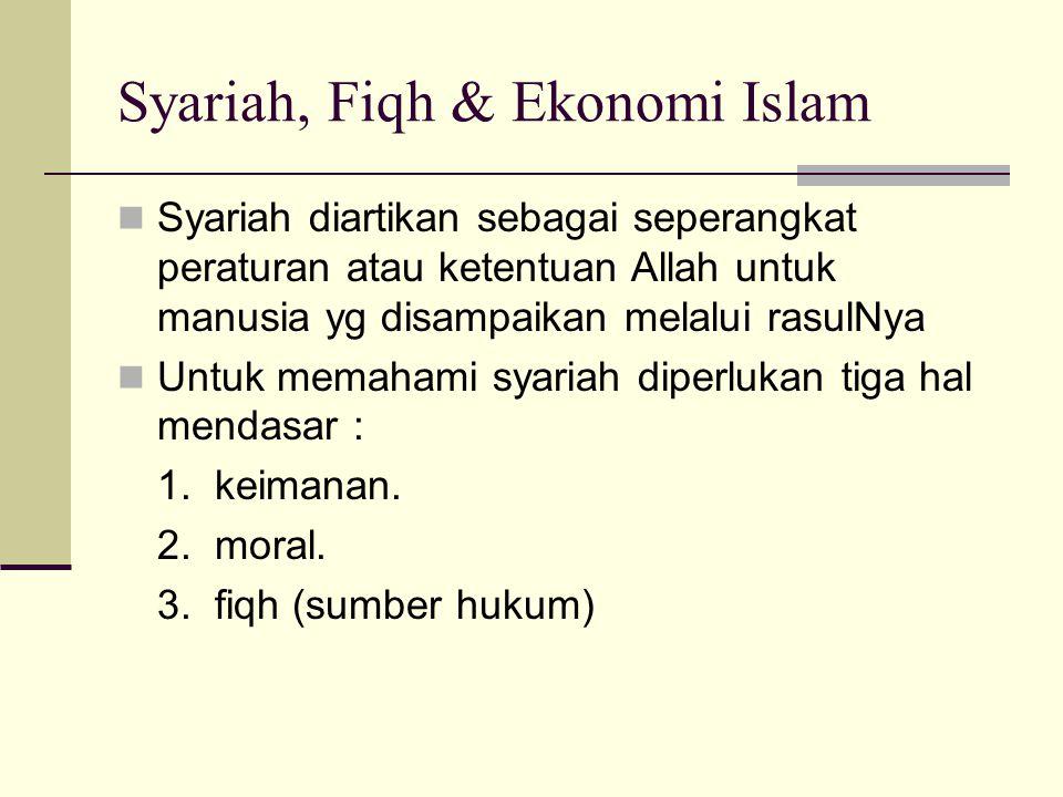 Sikap rasional Islam mendorong pelaku ekonomi islami untuk mencari informasi agar dapat meraih fallah. Sumber informasi meliputi dua hal : 1. ayat kau