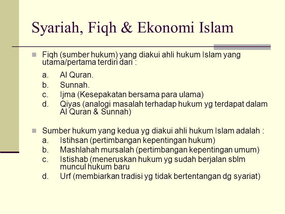 Syariah diartikan sebagai seperangkat peraturan atau ketentuan Allah untuk manusia yg disampaikan melalui rasulNya Untuk memahami syariah diperlukan t