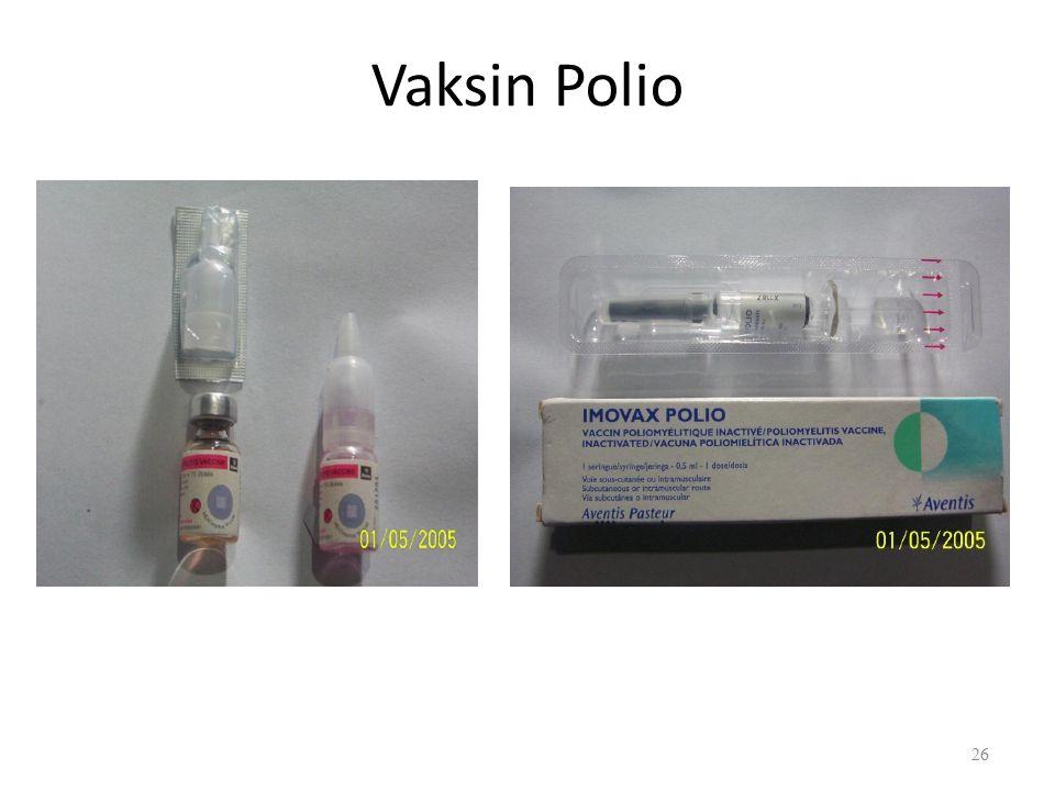 Vaksin Polio 26