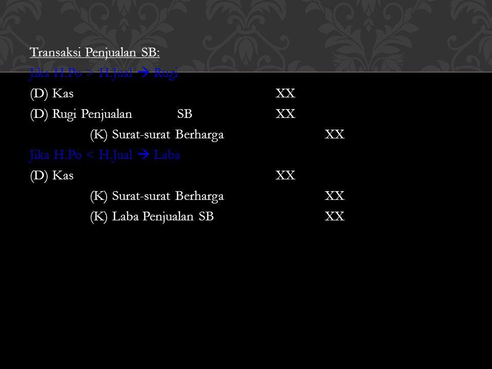 -Pendekatan L/R : (D) SB-Obligasi PT.