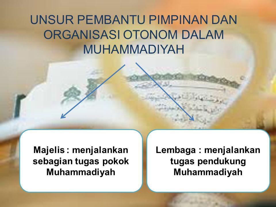 Pasal 3 : untuk menyelenggarakan tugas pokok tersebut pada pasal 2, Majelis tabligh mempunyai fungsi : 1.