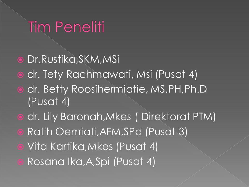  Dr.Rustika,SKM,MSi  dr.Tety Rachmawati, Msi (Pusat 4)  dr.