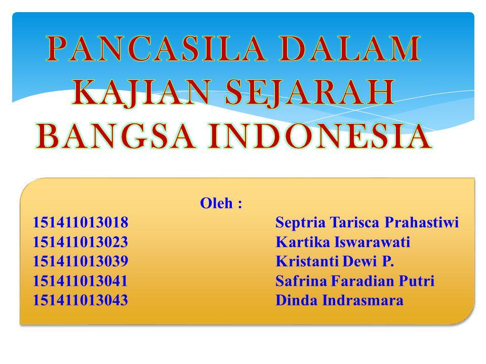 Adalah ideologi dasar bagi negara Indonesia.APA ITU PANCASILA?.
