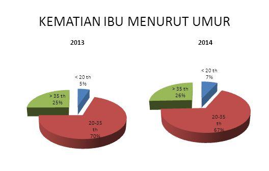 KEMATIAN IBU MENURUT UMUR 20132014
