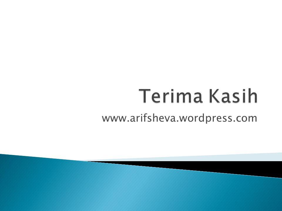 www.arifsheva.wordpress.com