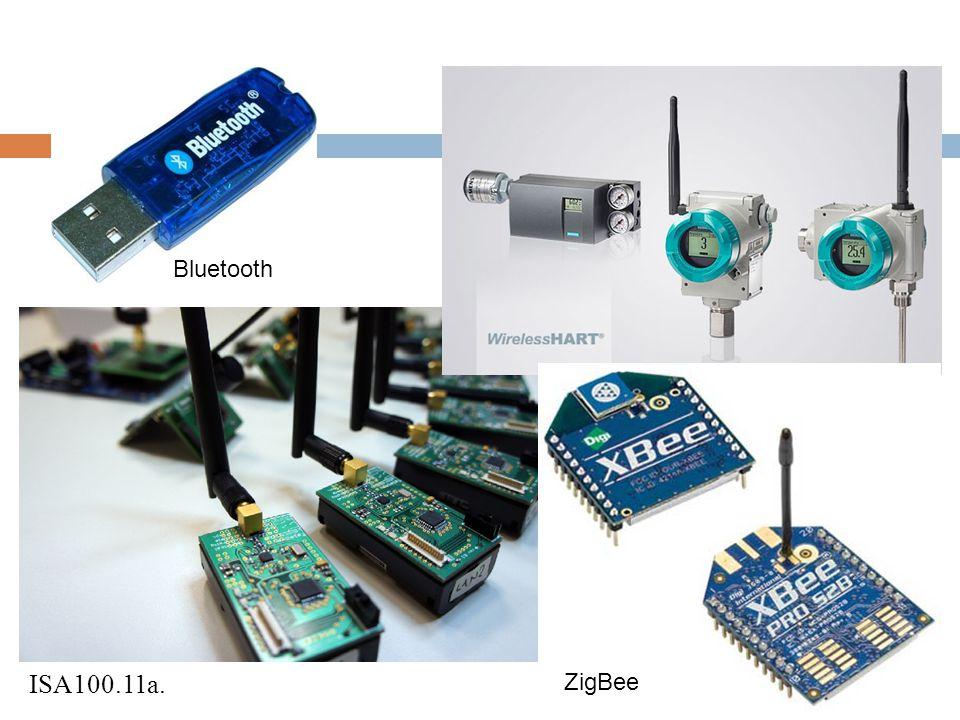 Bluetooth ISA100.11a. ZigBee