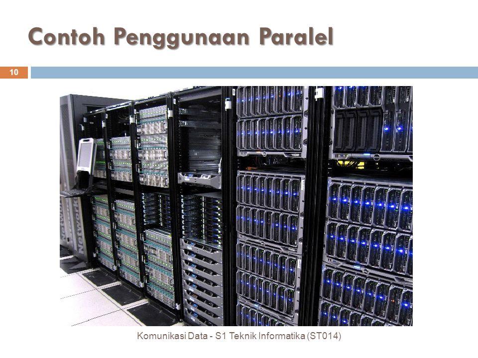Contoh Penggunaan Paralel 10 Komunikasi Data - S1 Teknik Informatika (ST014)