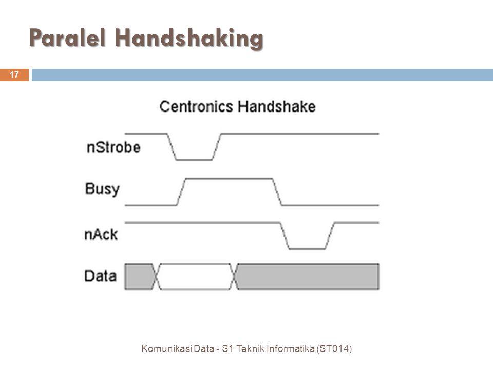 Paralel Handshaking 17 Komunikasi Data - S1 Teknik Informatika (ST014)
