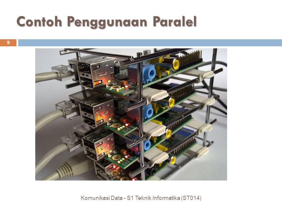 Contoh Penggunaan Paralel 9 Komunikasi Data - S1 Teknik Informatika (ST014)