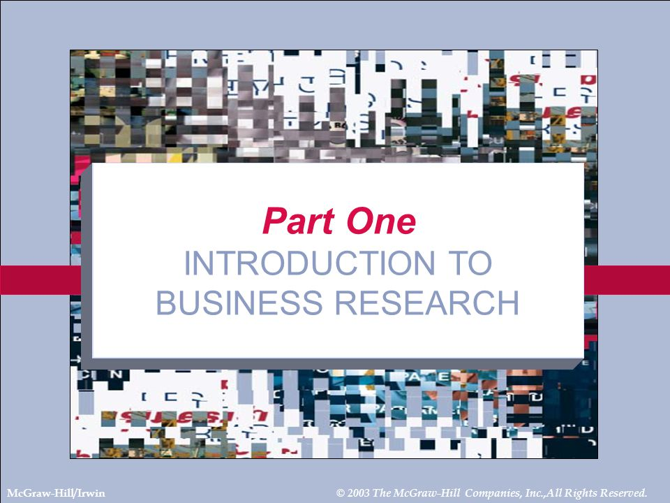 5-3 Chapter Five ETHICS IN BUSINESS RESEARCH