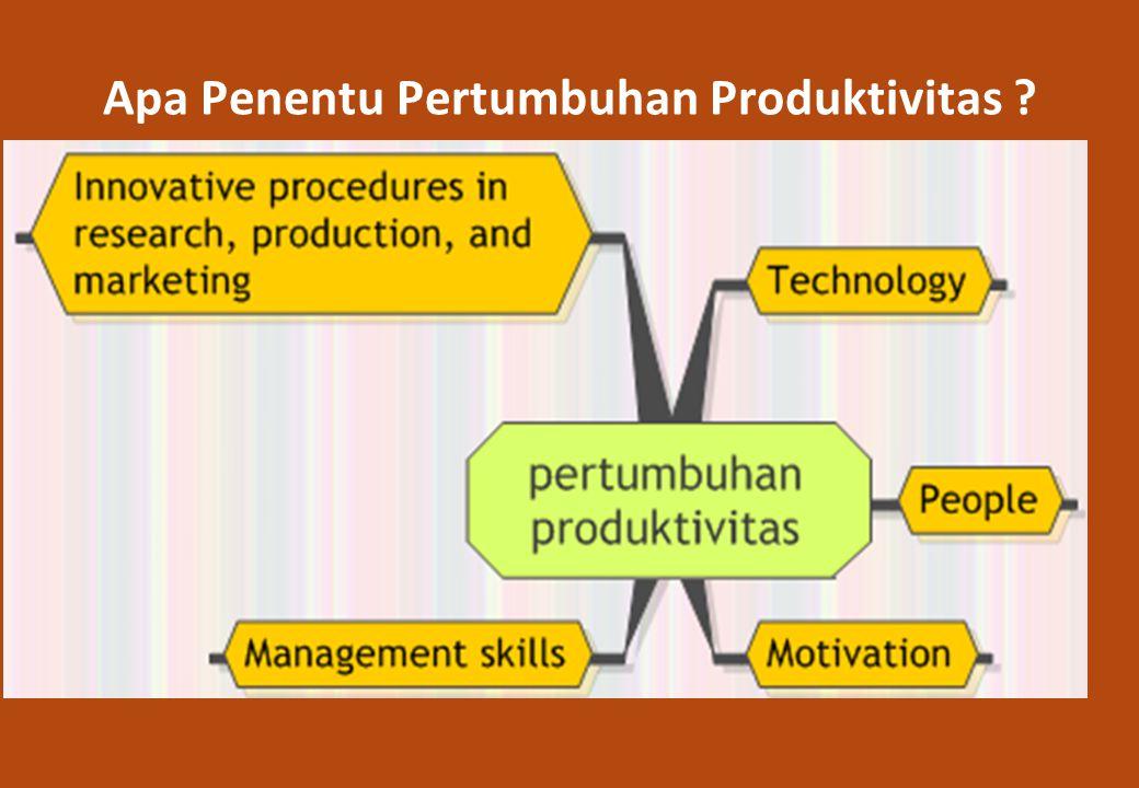 Apa Penentu Pertumbuhan Produktivitas ?