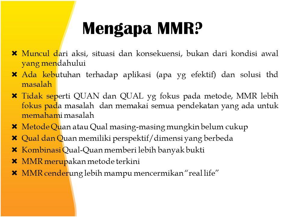 Mengapa MMR.