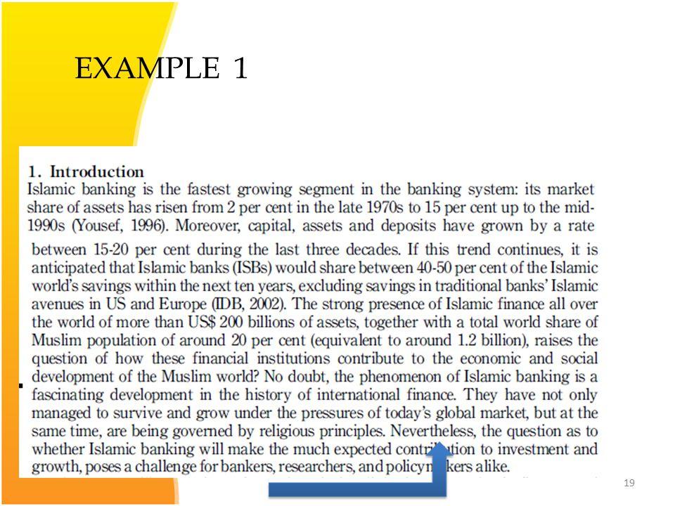 19 EXAMPLE 1