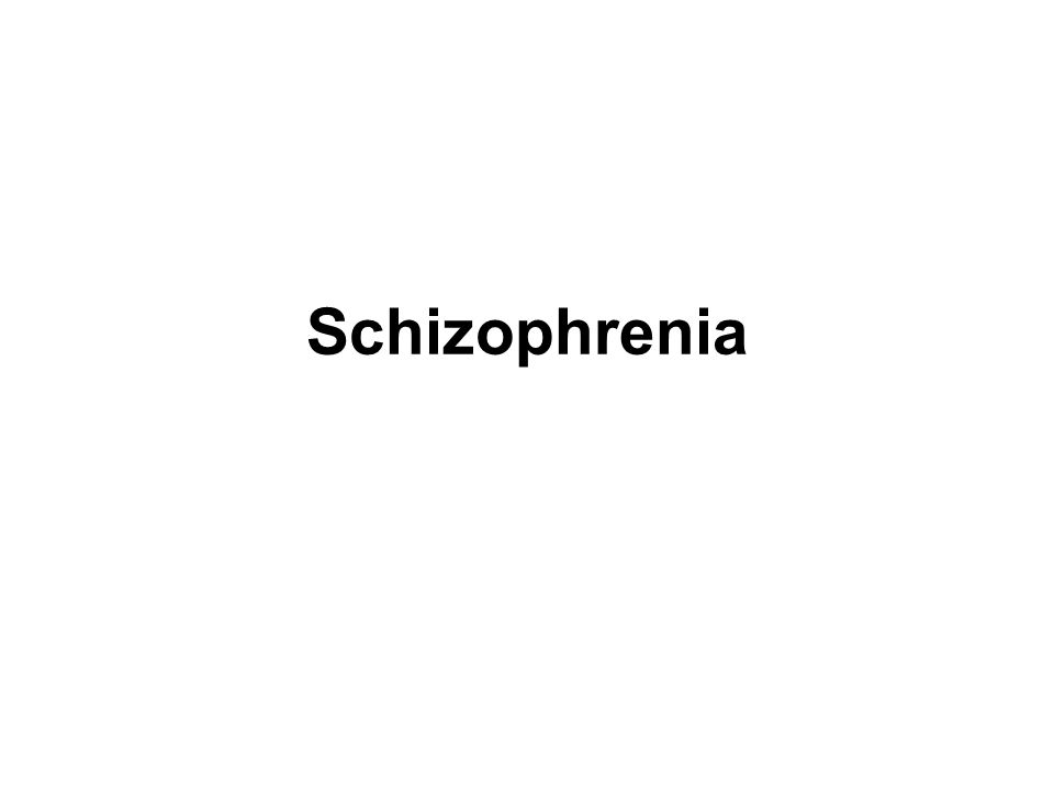 Sel Otak Pada Schizophrenia