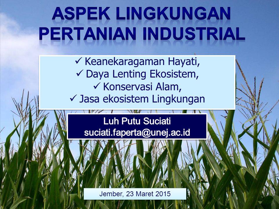 Sistem kawasan konservasi Indonesia dirancang berdasarkan kriteria seleksi dan penilaian sebagai berikut: 1.