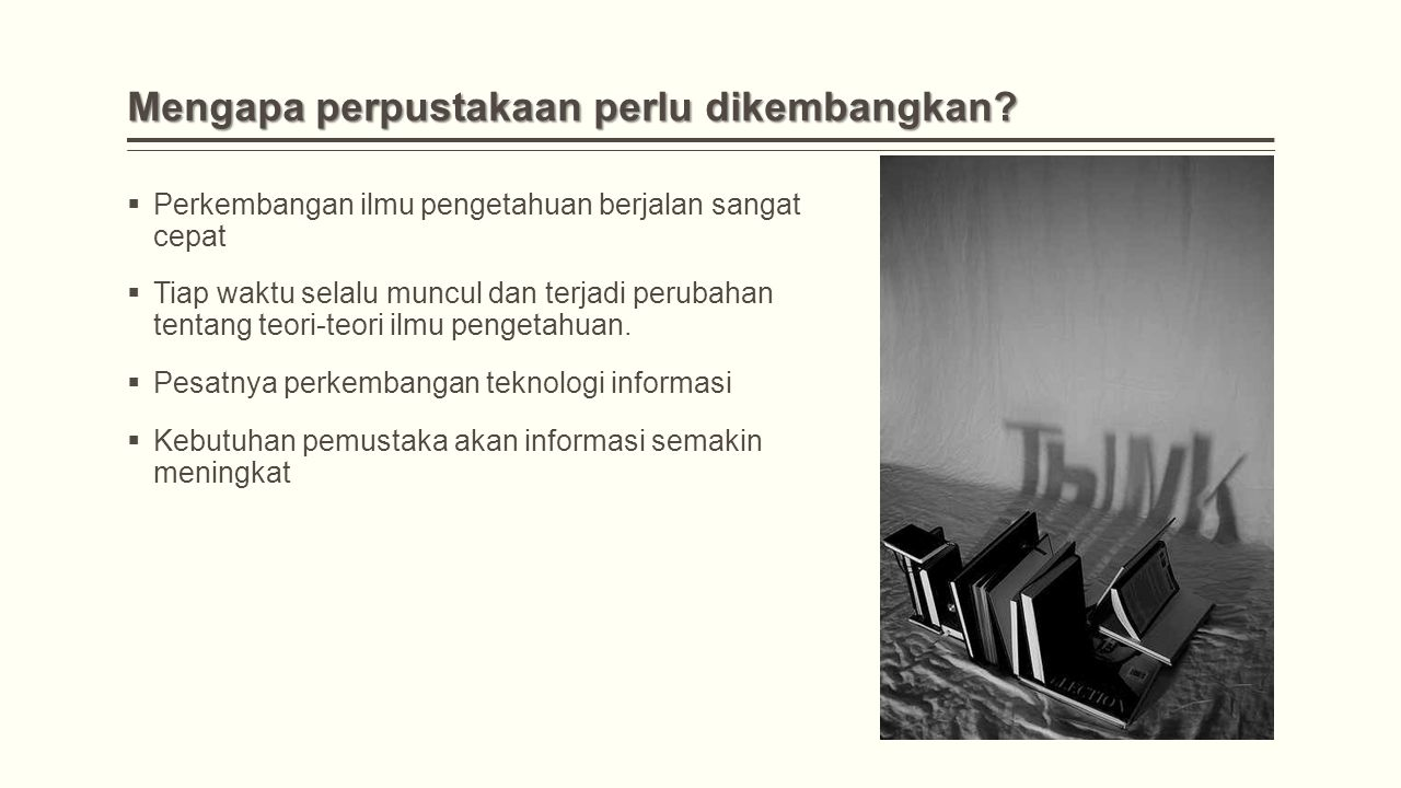 Proses Seleksi Untuk dapat melaksanakan seleksi bahan bahan pustaka pustaka, selektor harus memenuhi kriteria sebagai berikut;  menguasai sarana bibliografi;  mengetahui kondisi pemustaka perpustakaan;  mengetahui kebutuhan pemustaka;  memiliki pengetahuan mengenai bahan pustaka perpustakaan;  bersifat netral.