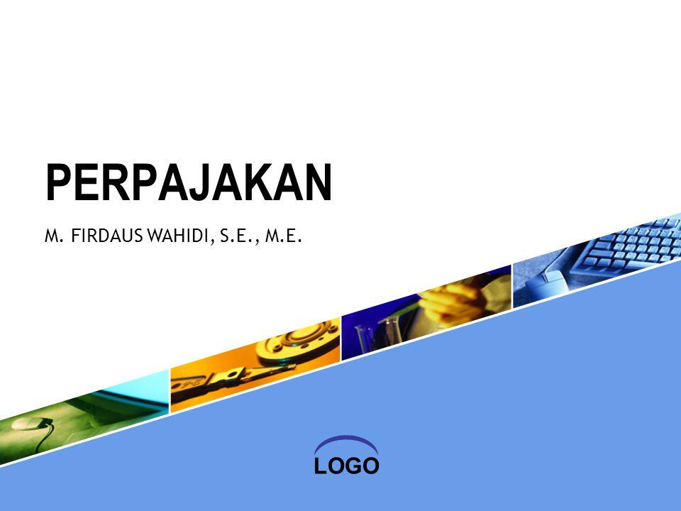 LOGO PERPAJAKAN M. FIRDAUS WAHIDI, S.E., M.E.