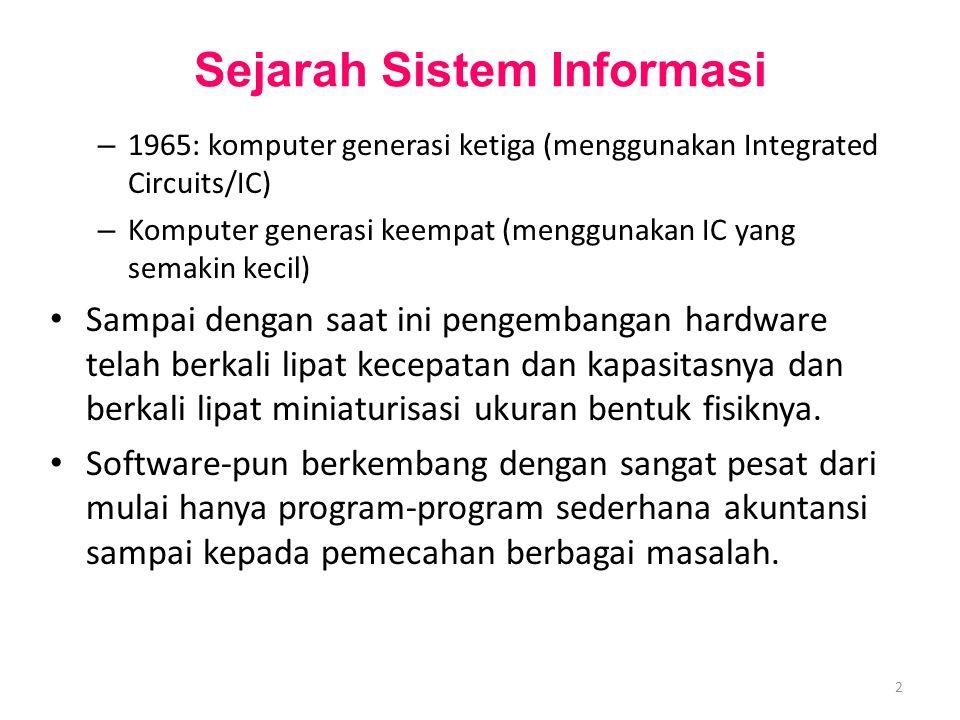 M0254 Enterprise Resources Planning ©2004 Integrasi sistem antar seluruh divisi.