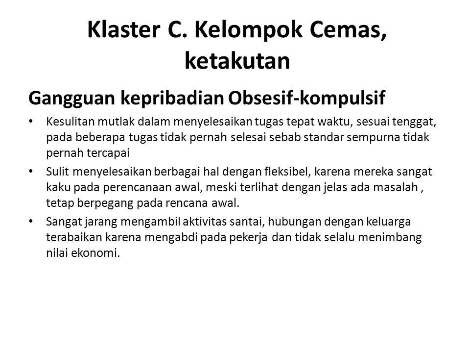 Klaster C.