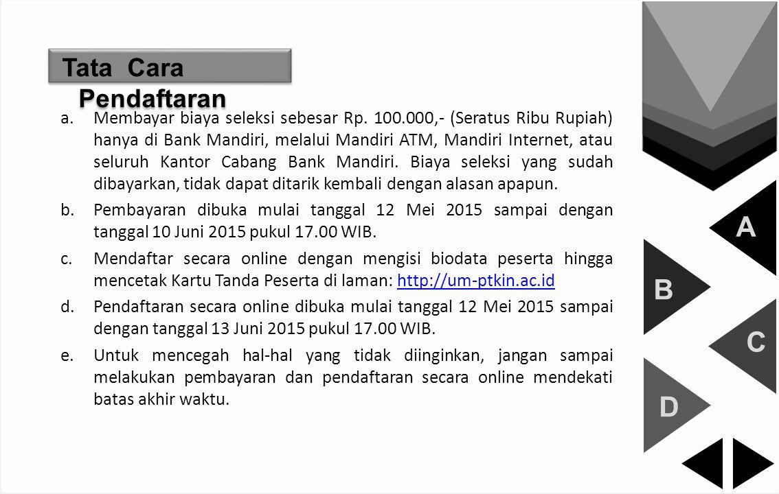 B Politeknik Negeri Samarinda (POLNES) A B C D click this botton… Jl KH Wahid Hasyim 28 Samarinda