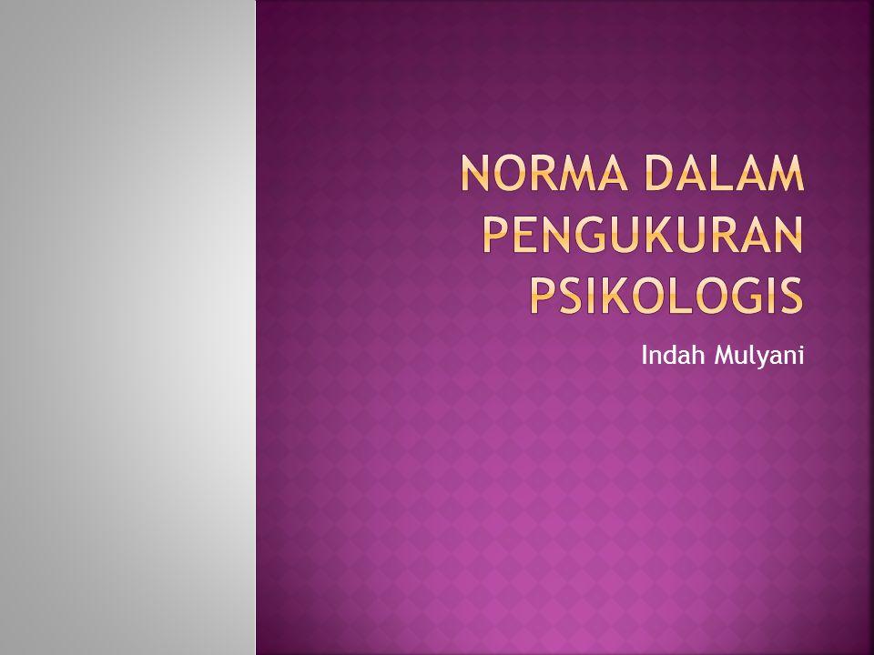 Penyelesaian :  Untuk tes matematika, misal nilai A adalah 75 x (mtk) = 75 Z (mtk) = = = 2 T (mtk) = 50 + 10.2 = 70  Untuk tes Bahasa Indonesia, misal nilai A adalah 90 x (indo) = 90 Z (indo) = = = 0,83 T (indo) = 50 + 10.0,83 = 58,3  Kesimpulan : Prestasi A relatif lebih baik pada tes matematika dibandingkan dengan prestasi pada tes bahasa Indonesia.