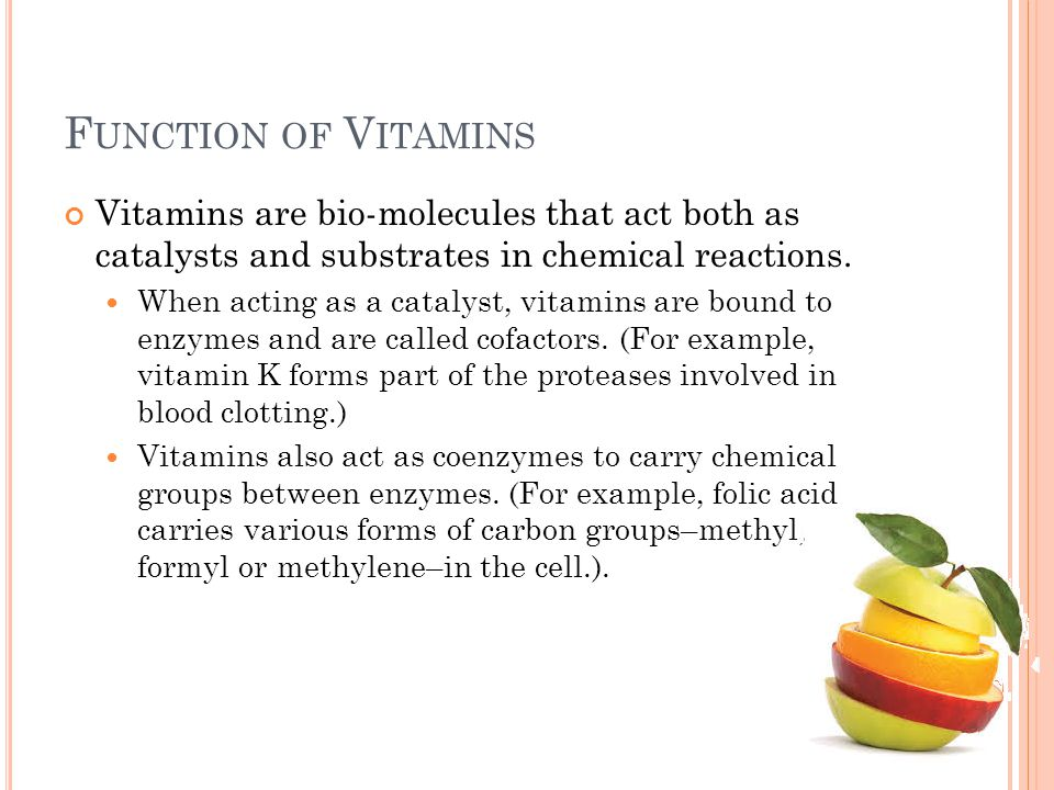 W ATER S OLUBLE V ITAMINS Absorbed directly into the bloodstream through digestion or as supplements dissolve hypervitaminoses are not peculiar  Excess is excreted through urine (exception of vitamin B6 and B12) As a result, any lack of water-soluble vitamins mostly affects growing or rapidly metabolizing tissues such as skin, blood, the digestive tract, and the nervous system Water-soluble vitamins are easily lost with overcooking