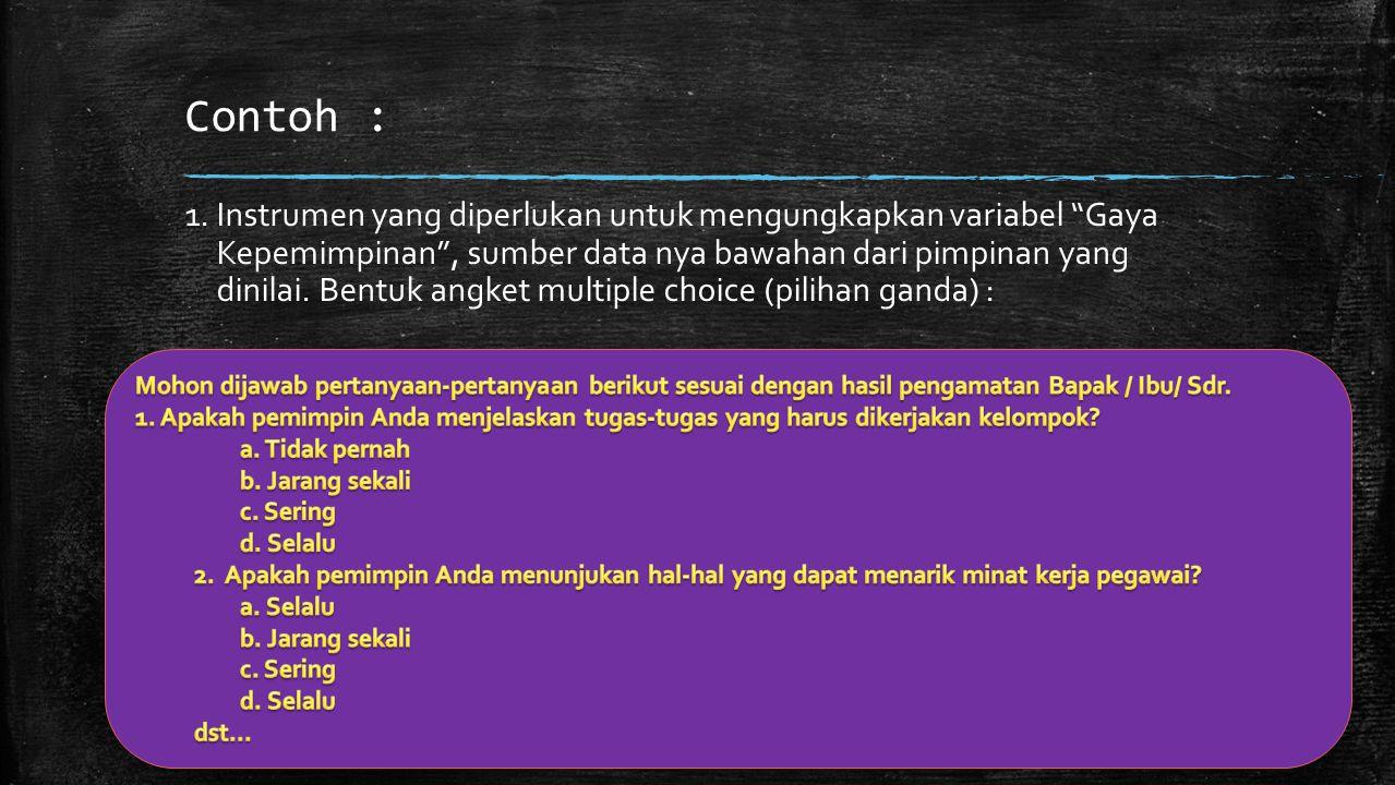 2.PENGUJIAN RELIABILITAS INSTRUMEN ▪ INTERNAL a.