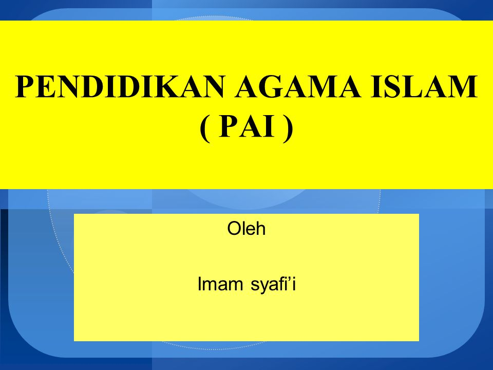 Syariah (menurut istilah adalah:) Ketentuan hukum Allah yang diturunkan kepada para Nabi dan Rasul untuk umatnya.