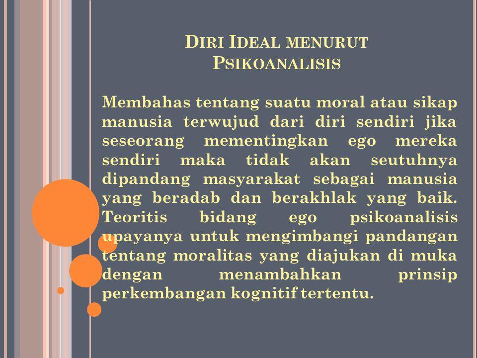 Permasalahan itu dapat diajukan sebagai berikut: misalnya perkembangan moral yang dalam beberapa instansi jika dilihat dari criteria kognitif dan pert