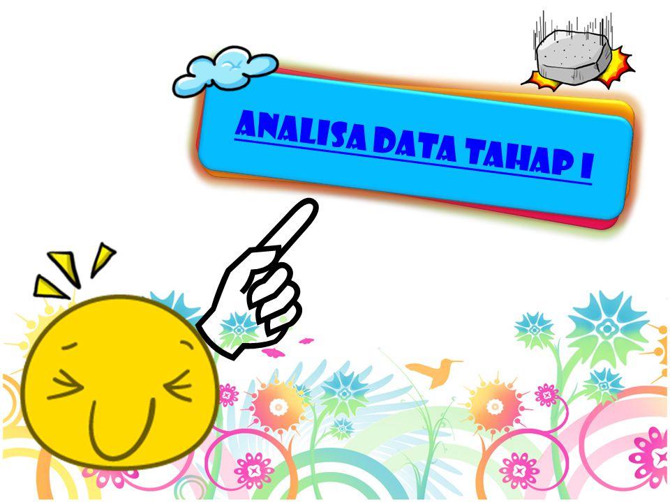 ANALISA DATA TAHAP i 