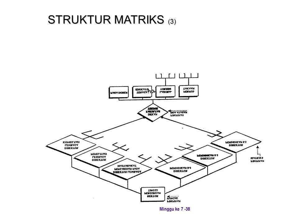 Minggu ke 7 -38 STRUKTUR MATRIKS (3)