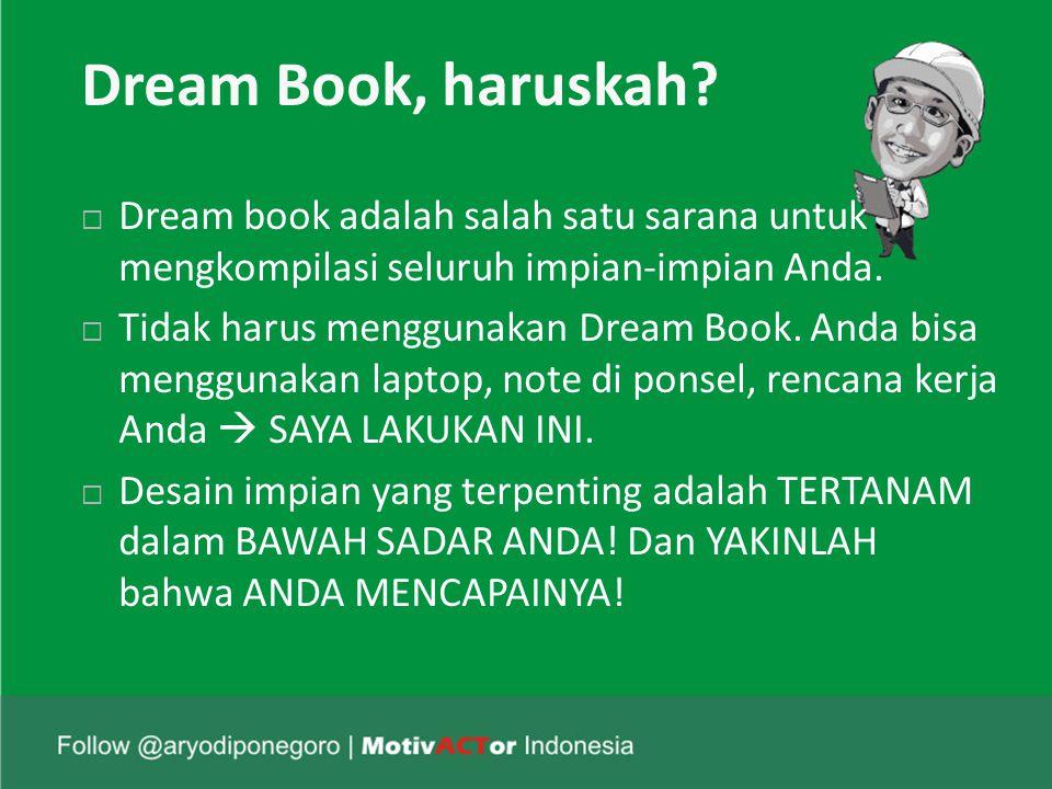Dream Book, haruskah.