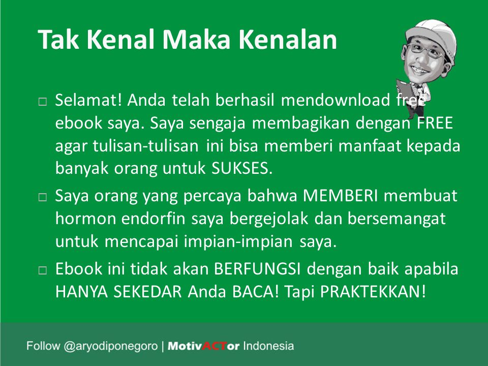 Cerita Siti Hajar (3)  Mungkin sekarang Anda sedang kesulitan menjual produk, mungkin kesulitan melunasi hutang, mungkin mengalami masalah pribadi yang sulit Anda selesaikan.