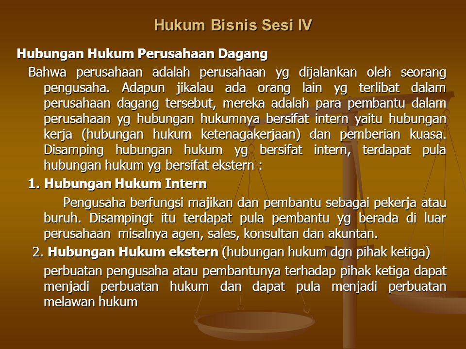 Hukum Bisnis Sesi IV Kelemahan CV 1.